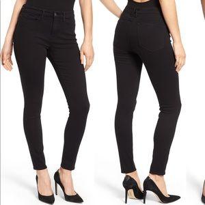 Good American (Good Legs) black skinny jeans